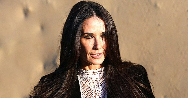 Here's How Demi Moore Looks like with Blonde Hair Which She Had for Her Role on 'Brave New World'