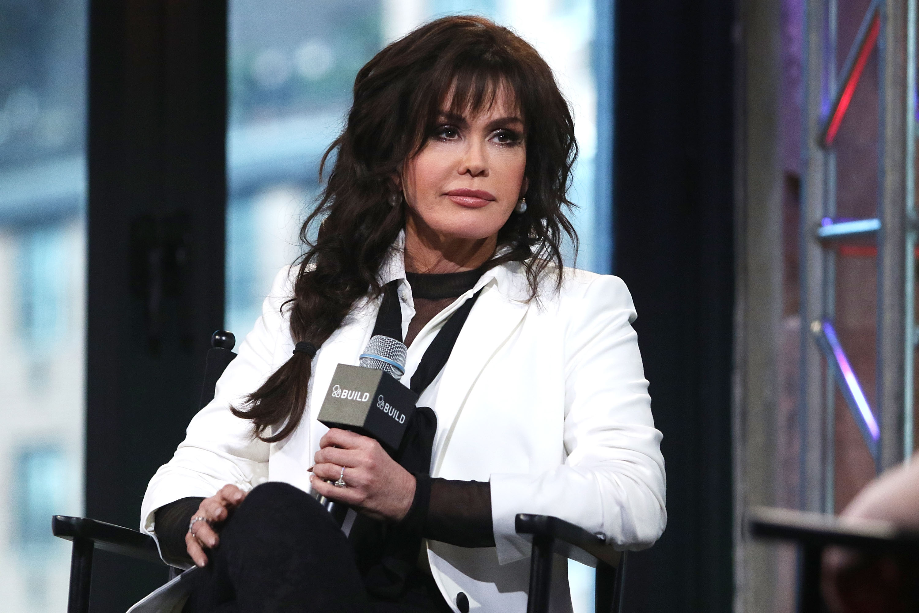 Marie Osmond attends the AOL Build Speaker Series in New York City on April 15, 2016 | Photo: Getty Images