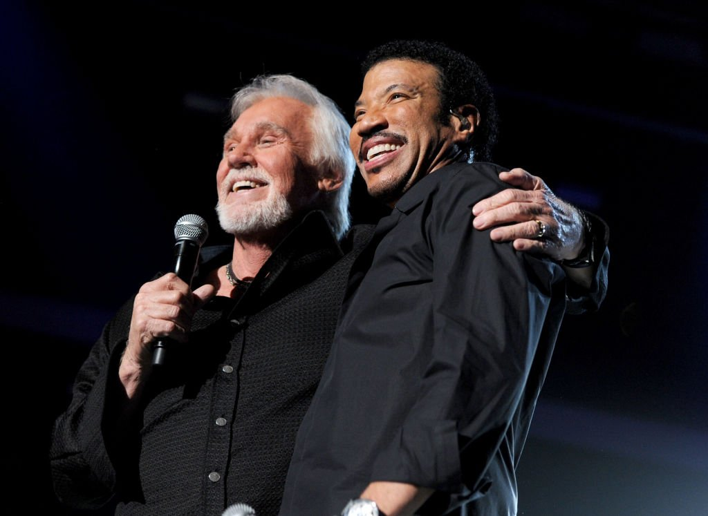 Singers Kenny Rogers and Lionel Richie perform onstage during Lionel Richie and Friends in Concert presented by ACM held at the MGM Grand Garden Arena on April 2, 2012 in Las Vegas, Nevada.   Source: Getty Images