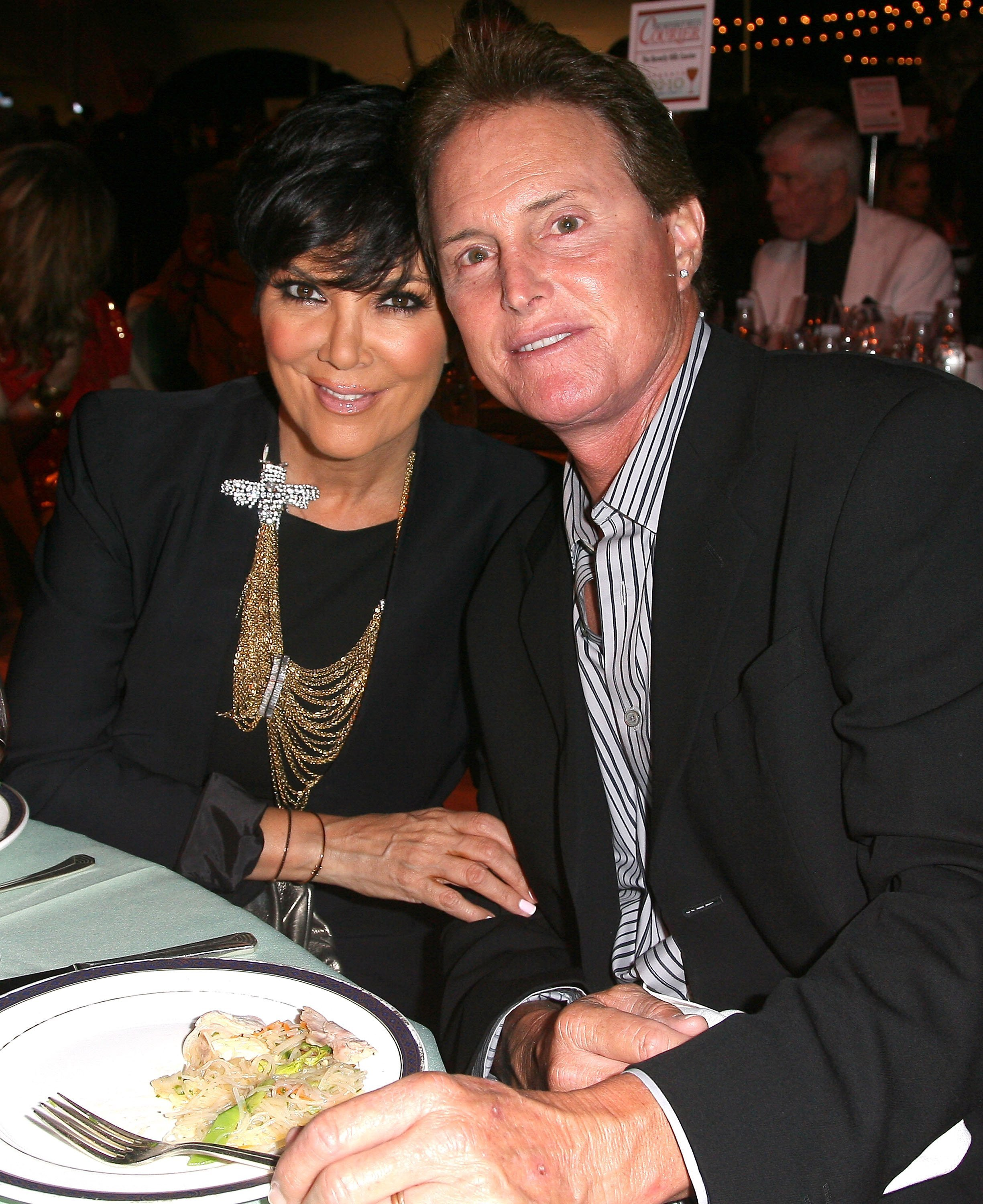 Kris Jenner and Caitlyn, formerly Bruce Jenner attending a wine and food festival in September 2010. | Photo: Getty Images