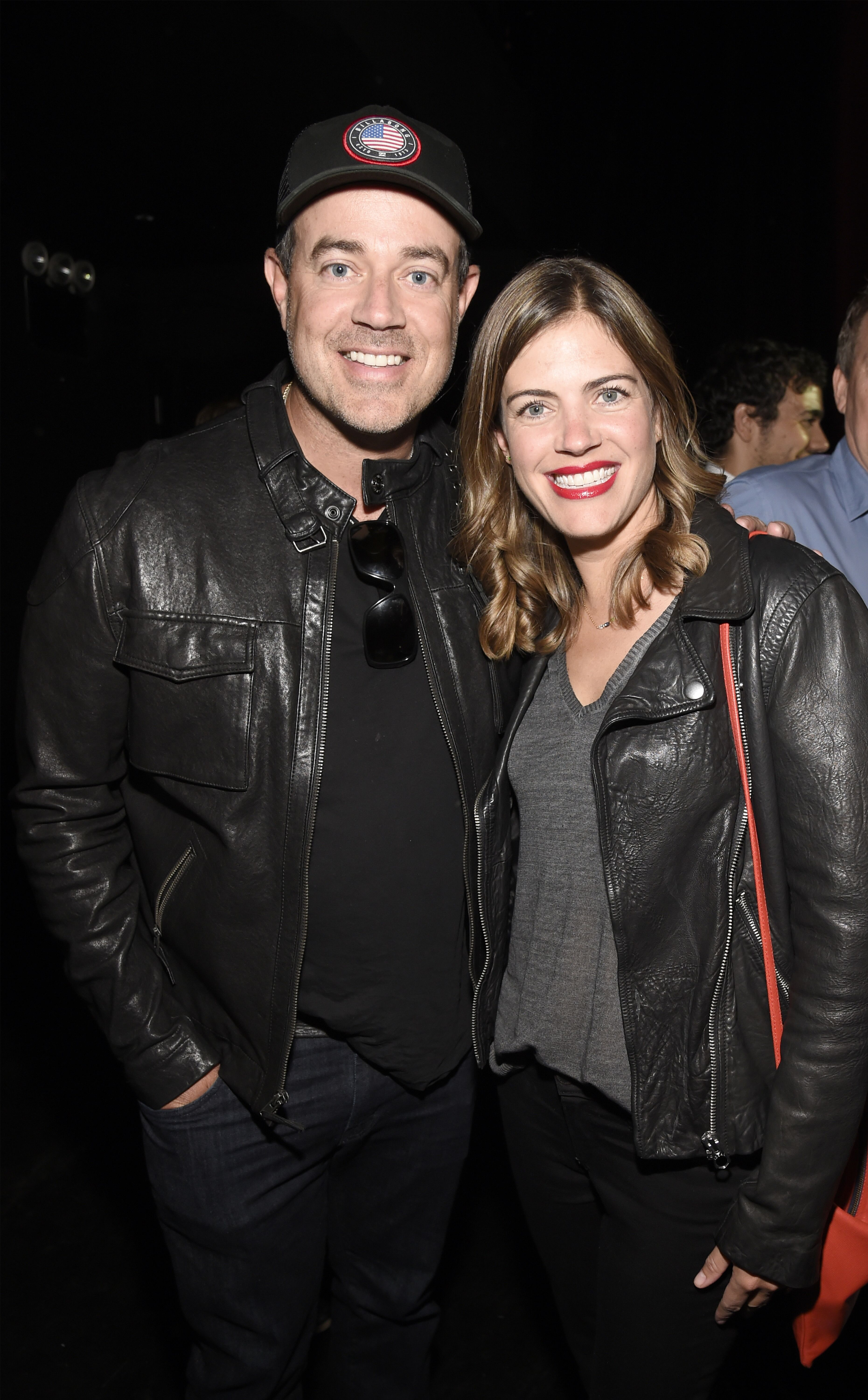 Carson and Siri Daly at SiriusXM's private concert with U2 in 2018 | Source: Getty Images