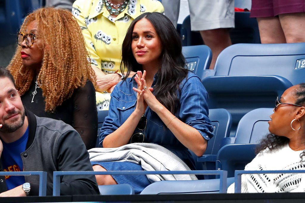 Meghan, Duchess of Sussex, attends the Women's Singles final match between Serena Williams of the United States and Bianca Andreescu of Canada on day thirteen of the 2019 US Open at the USTA Billie Jean King National Tennis Center | Photo: Getty Images