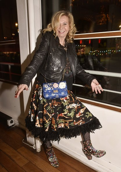 "Fiona Gelin participe à la fête ""Starmag"" au Salon des Vedettes Port de Suffren. 
