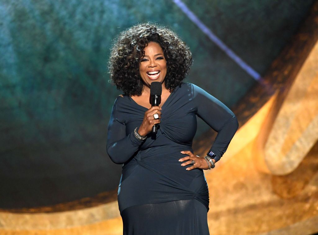 Oprah Winfrey speaks onstage at Q85: A Musical Celebration for Quincy Jones on September 25, 2018, in Los Angeles, California | Photo: Source: Getty Images/GlobalImagesUkraine