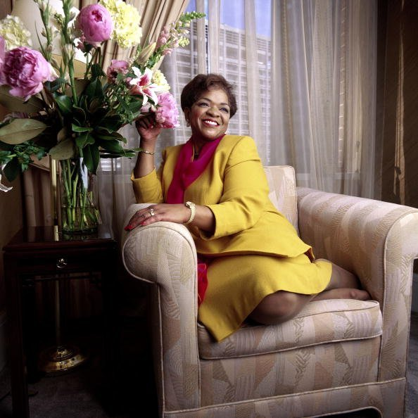 Nell Carter in Houston, Texas on December 5, 1996 | Source: Getty Images