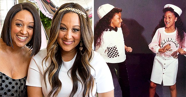 Check Out This Rare Throwback Photo of Tia and Tamera Mowry at One of Their First Photo Shoots
