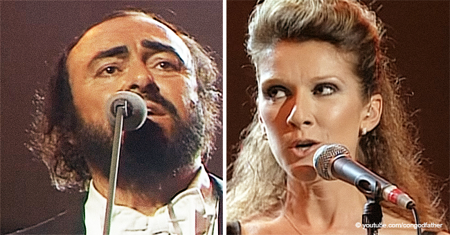 Luciano Pavarotti and Céline Dion's Duet Was so Good That It Still Leaves People in Awe
