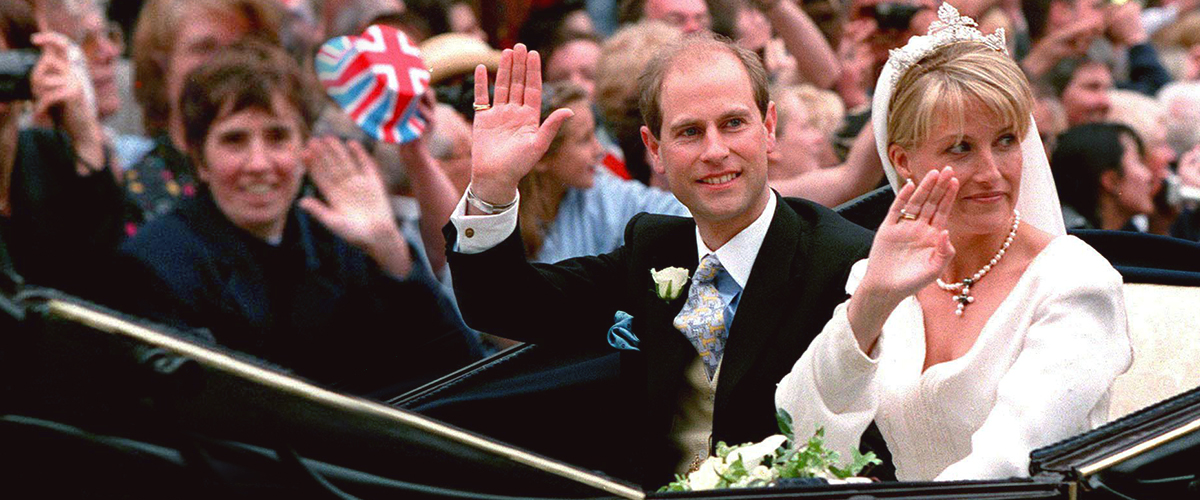 Prince Edward & Sophie, Countess of Wessex, Glow While Celebrating Their 20th Wedding Anniversary