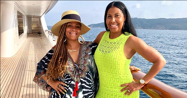 LL Cool J's Wife Simone Shares Gorgeous Snap & Touching Note on Cookie Johnson's Birthday