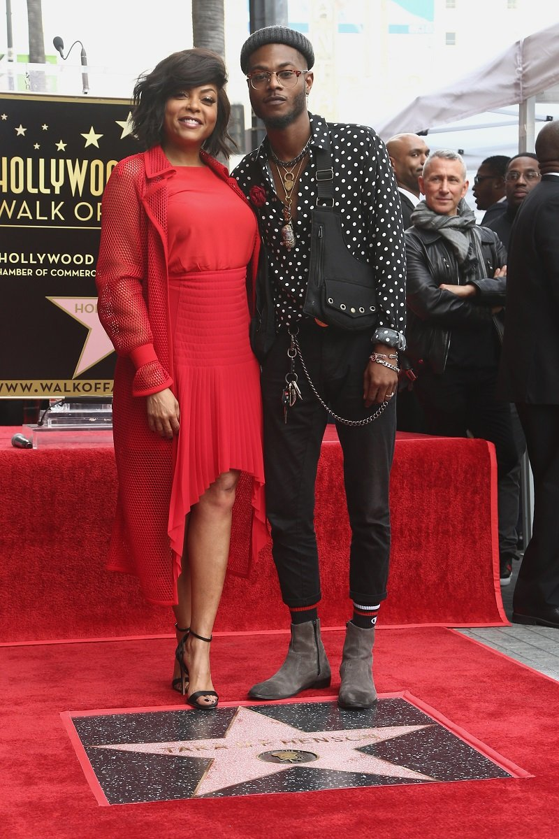 Taraji P. Henson and Marcell Johnson on January 28, 2019 in Hollywood, California | Photo: Getty Images