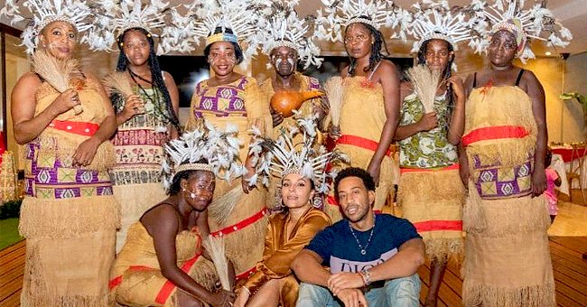 Ludacris & Wife Eudoxie Celebrate Their Cultural Heritage on Christmas in Gabon