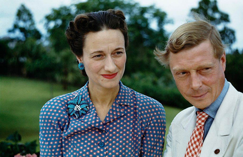 Wallis, Duchess of Windsor and the Duke of Windsor on January 01, 1942 | Photo: Getty Images