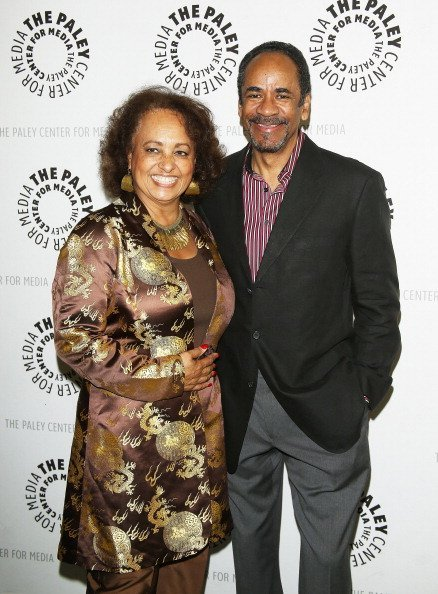 """Daphne Reid and Tim Reid at the """"Baby, If You've Ever Wondered: A WKRP In Cincinnati"""" reunion 