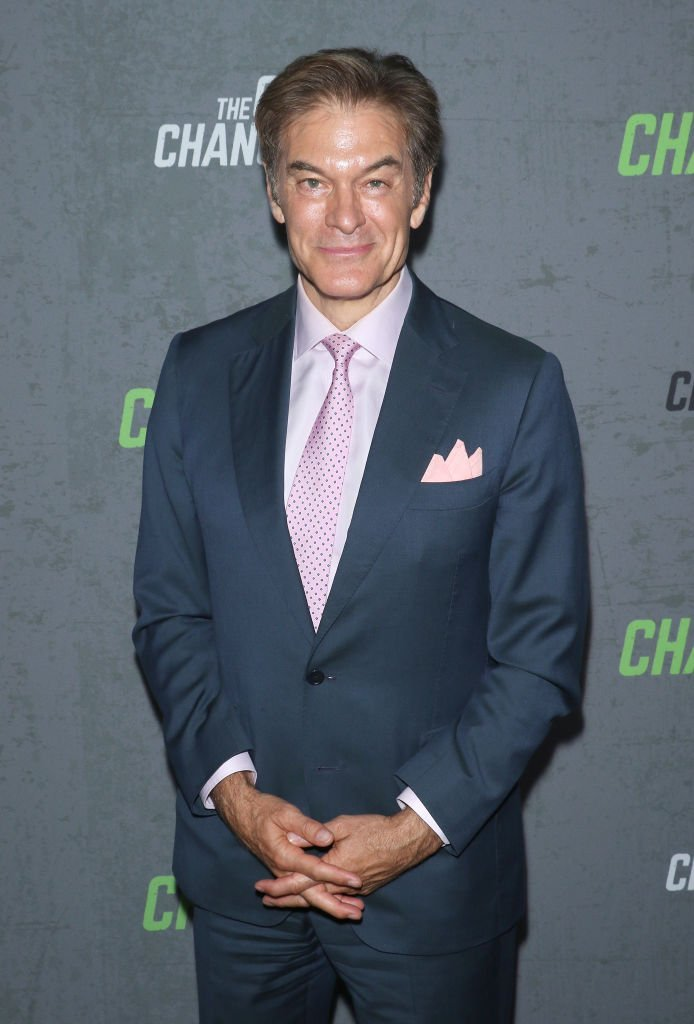 "Dr. Mehmet Oz attends the ""The Game Changers"" New York premiere at Regal Battery Park 11 