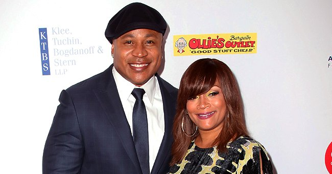 LL Cool J's Wife Simone Smith Flaunts Statement Jewelry Wearing Turban and Denim Skirt (Photo)