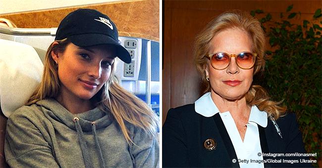 """Sylvie Vartan tente de """"s'habituer"""" aux voyages d'Ilona Smet et écrit un message sur sa page Instagram"""