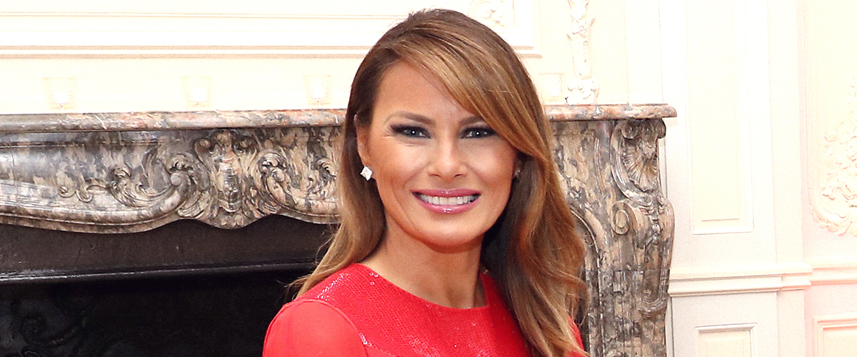 Melania Trump Steals the Spotlight in Glamorous $7,124 Red Sequined Gown