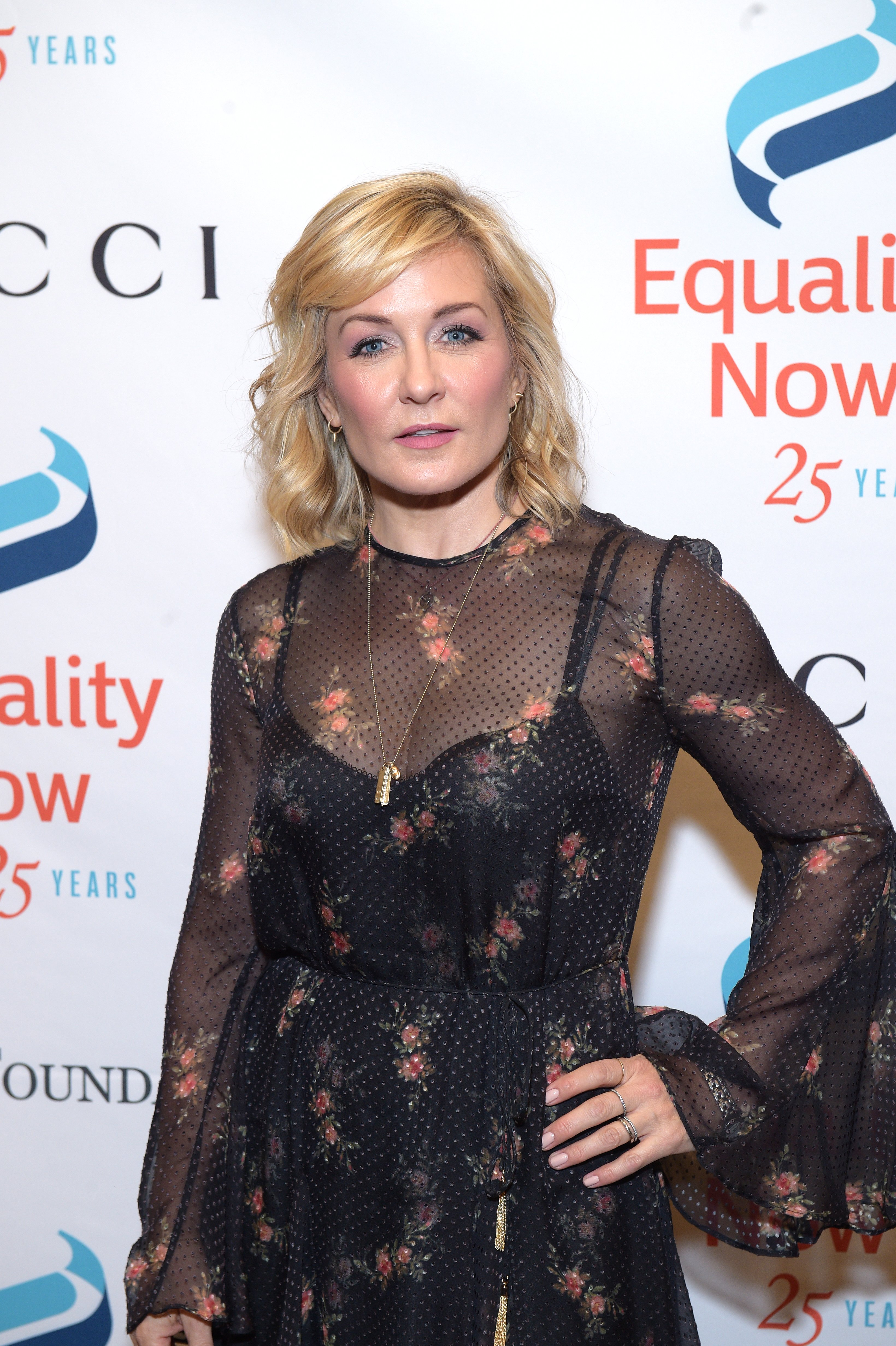 """Amy Carlson at the """"Make Equality Reality"""" Gala at Gotham Hall on October 30, 2017 in New York City 
