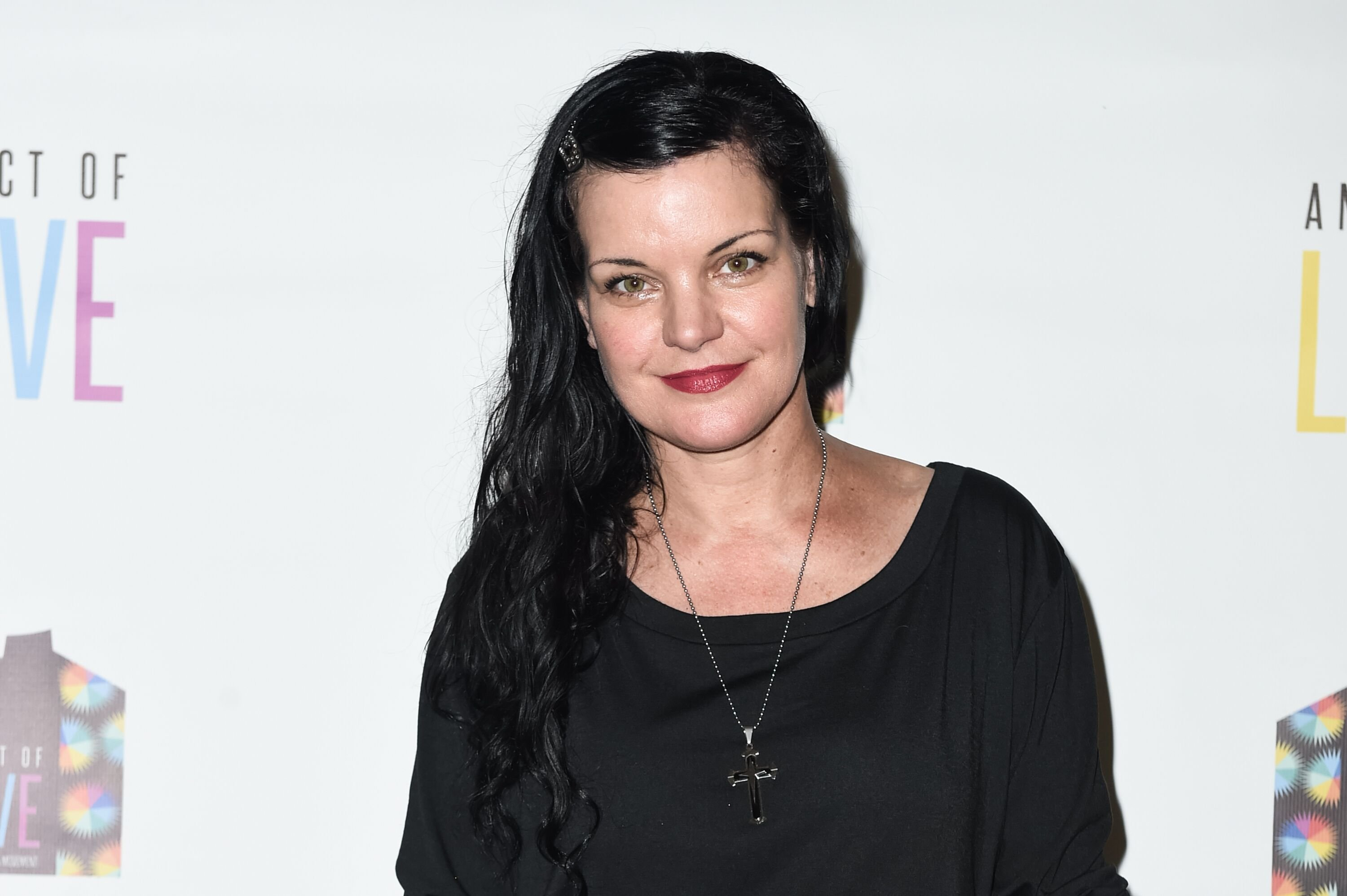 "Actress Pauley Perrette attends the screening and Q&A for Chhibber Mann Productions' ""An Act Of Love"" at Hollywood United Methodist Church on April 3, 2016 in Hollywood, California 