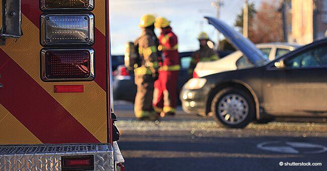 Fingía ayudar a una mujer que tuvo un accidente de auto, pero en realidad la estaba robando