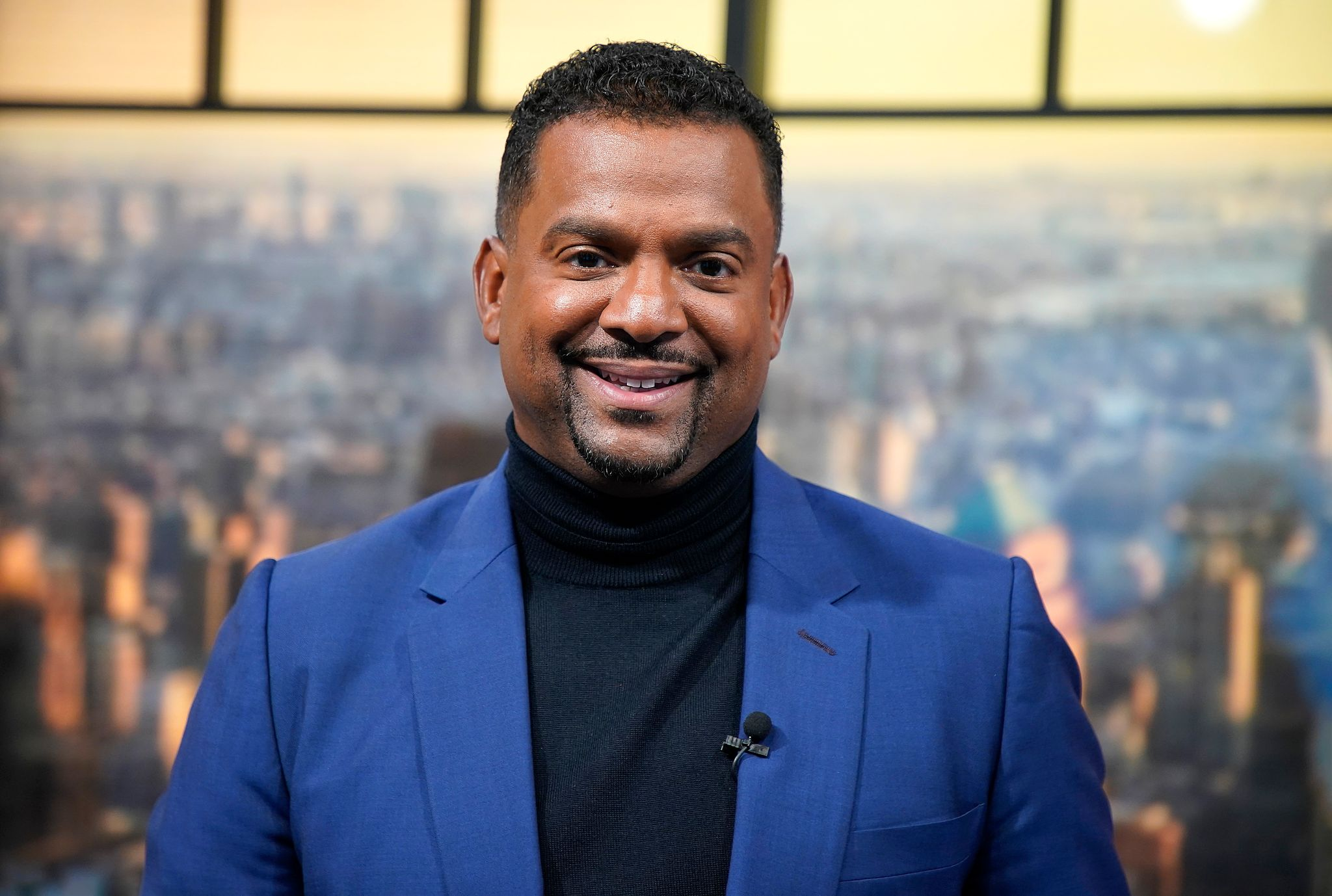 Actor Alfonso Ribeiro at People Now Studios on November 14, 2019 in New York City. | Photo: Getty Images