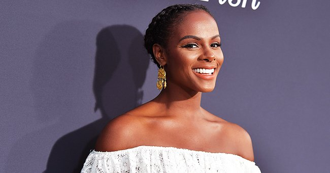 Tika Sumpter from 'Mixed-ish' Shares Cute Photo of Daughter Ella Hiding behind a Trident