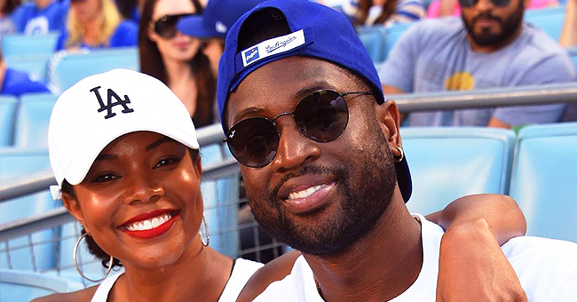 Dwyane Wade Shares Photo of Himself Throwing Baby Kaavia in the Air While Playing in Swimming Pool
