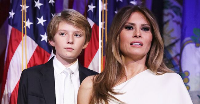 Inside First Lady Melania Trump & Barron's Close Mother-Son Relationship