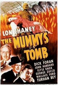"""Poster for """"The Mummy's Tomb."""" 