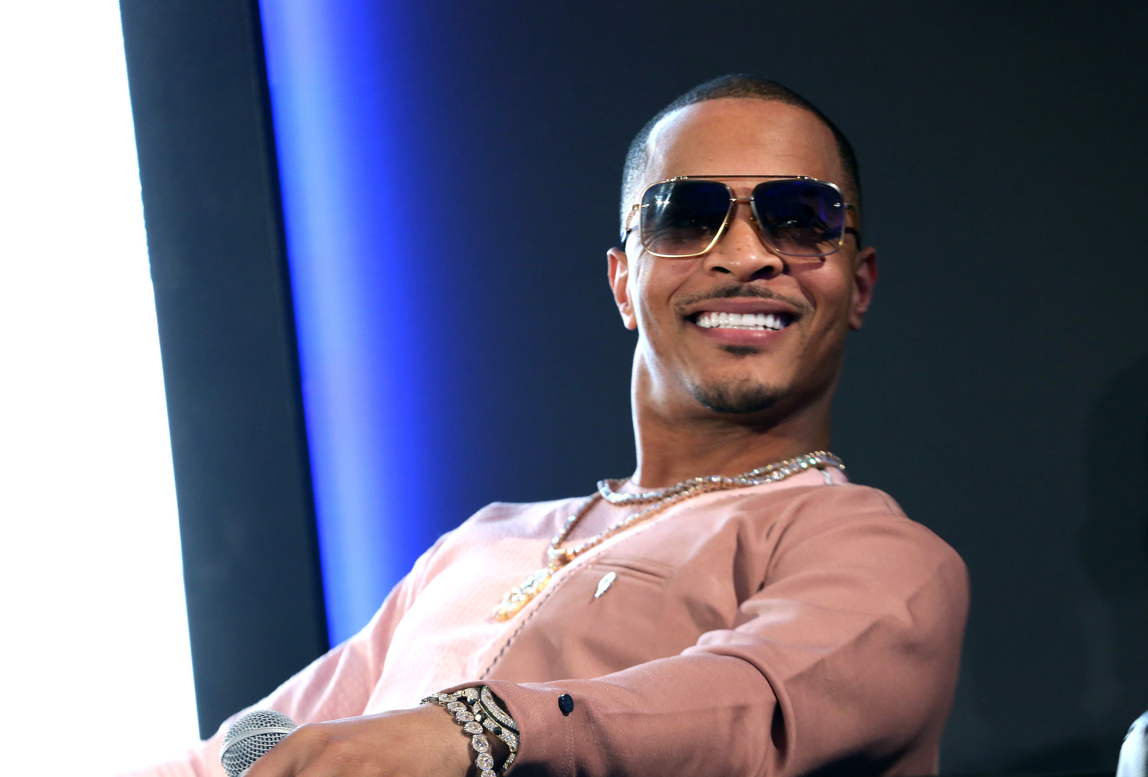 T.I. speaking at META – Convened by BET Networks on February 20, 2020 in Los Angeles, California. | Source: Getty Images