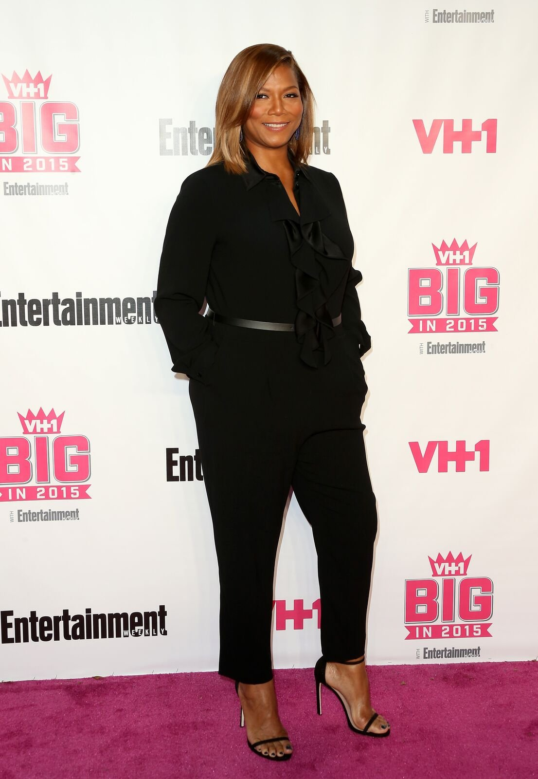 Actress Queen Latifa attends VH1 Big In 2015 With Entertainment Weekly Awards at Pacific Design Center on November 15, 2015   Photo: Getty Images