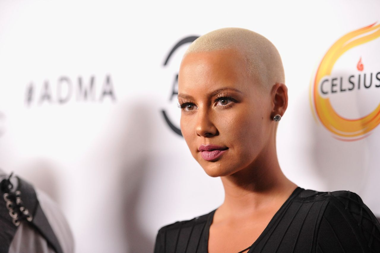 Amber Rose attends the first All Def Movie Awards at Lure Nightclub on February 24, 2016 in Los Angeles, California. | Source: Getty Images