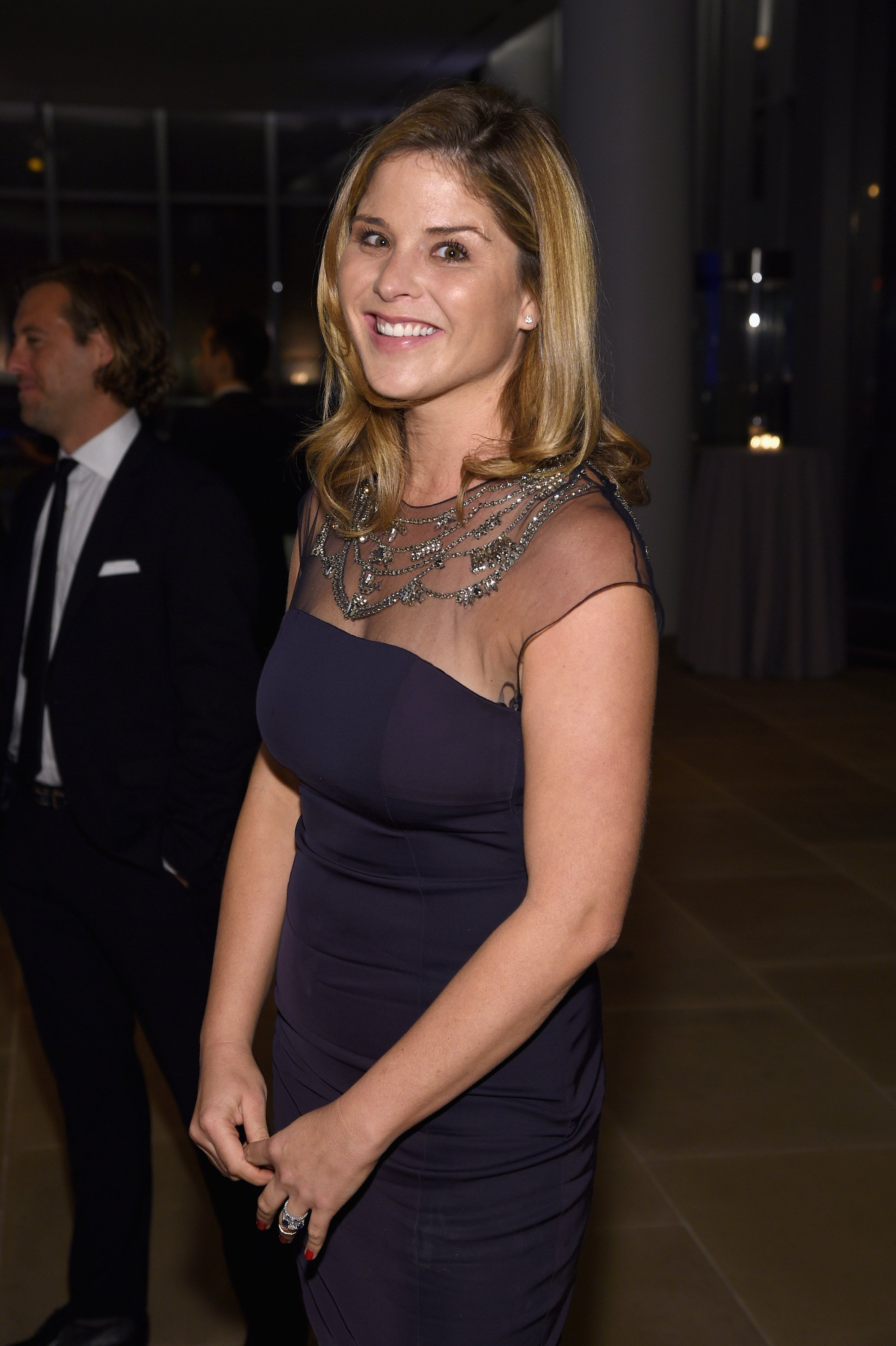 Jenna Bush Hager attends the GQ Gentlemen's Ball in New York City on October 22, 2014 | Photo: Getty Images