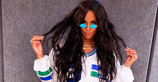 Ciara Goes Flashes Her Pregnant Belly as She Works out with a Smile on Her Face in Photos