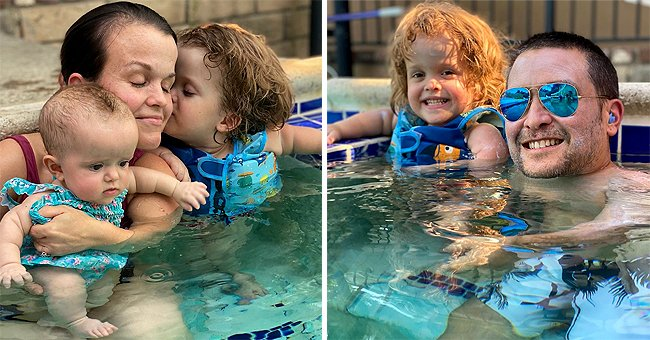 'Little Women: LA' Terra Jolé Enjoys Swimming with Her Children in New Family Photos