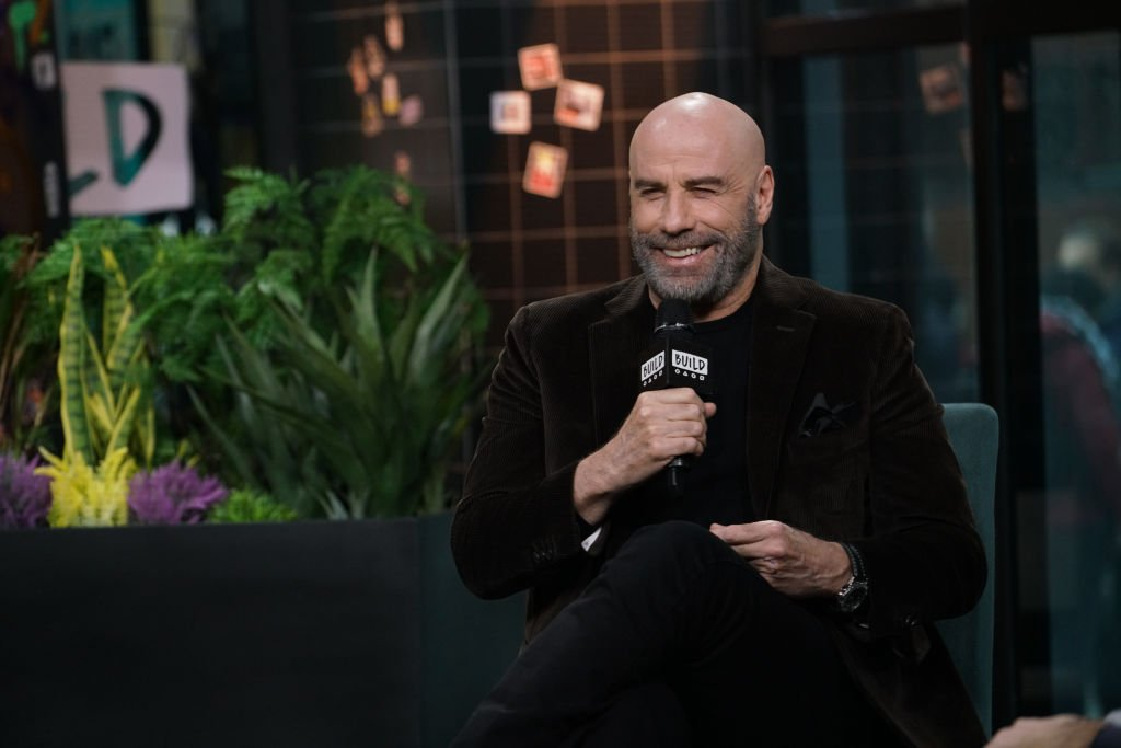 """John Travolta attends Build Series to discuss his role in the film """"The Fanatic"""" at Build Studio 