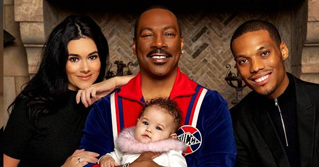 Eddie Murphy's Son Miles Melts Hearts as He Hugs Daughter in a Precious Photo
