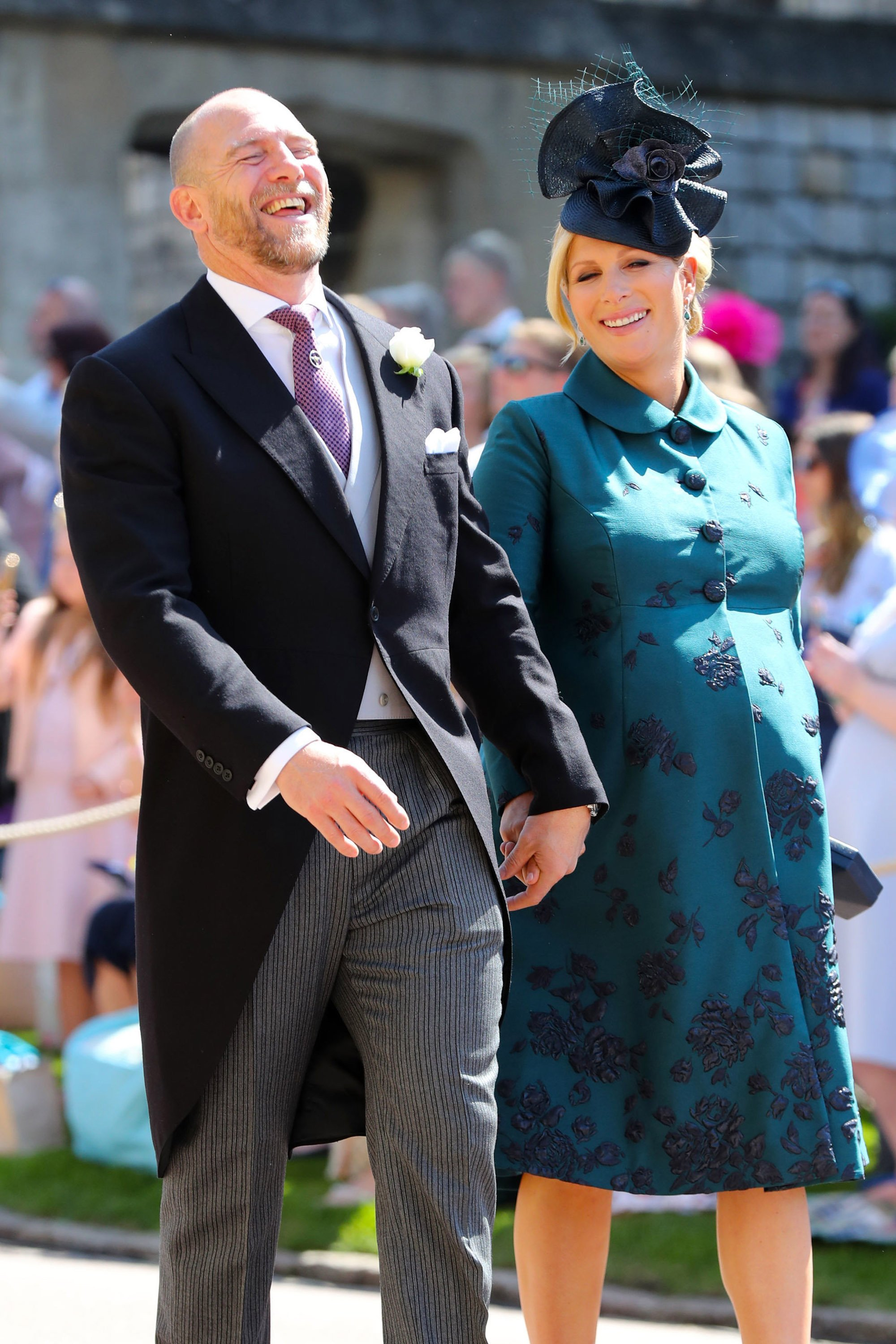 Mike and Zara Tindall. I Image: Getty Images.