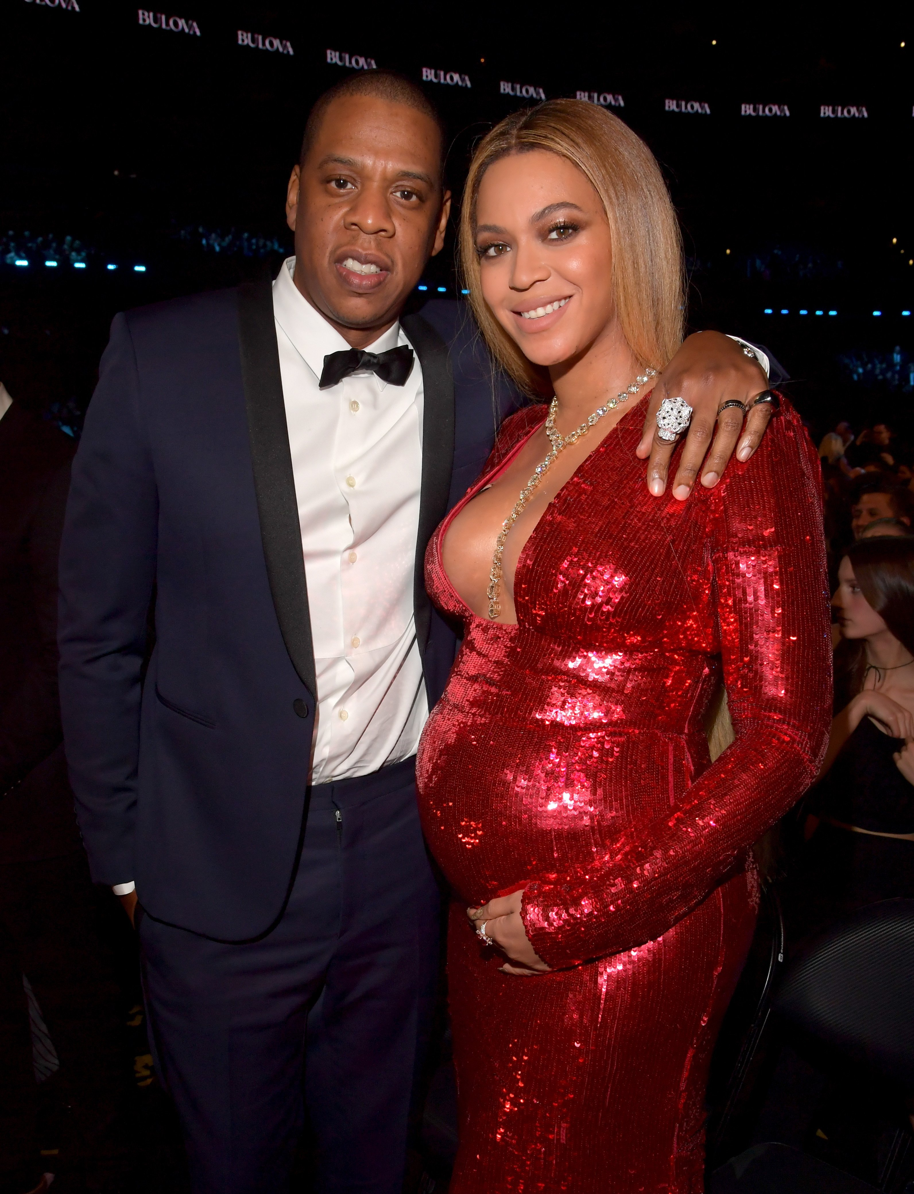 Jay Z and Beyoncé attend The 59th Grammy Awards at Staples Center on February 12, 2017 in Los Angeles, California l Source: Getty Images