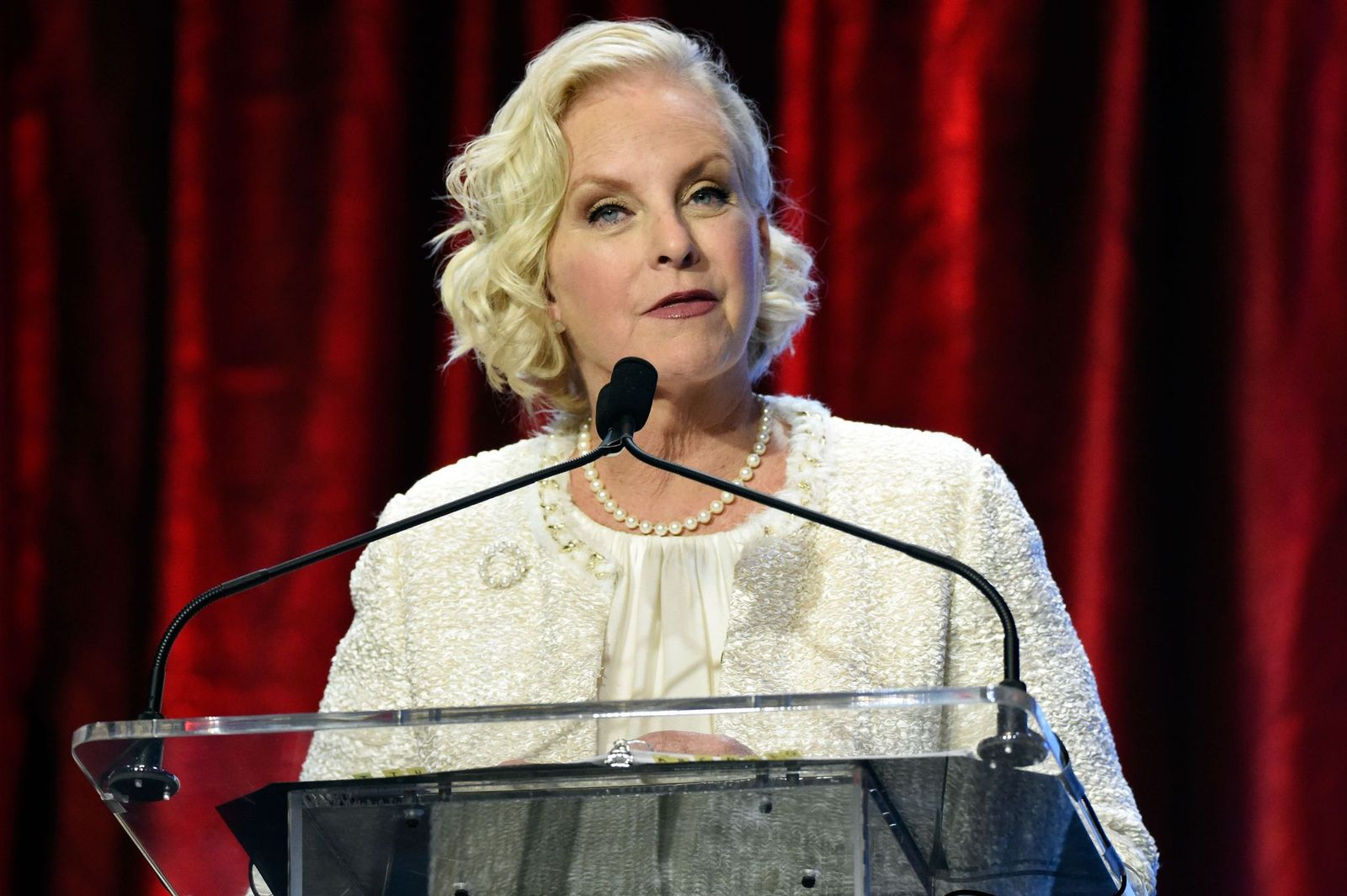 Cindy McCain at the Muhammad Ali Humanitarian Awards at Marriott Louisville Downtown on September 17, 2016,  in Louisville, Kentucky | Photo: Getty Images