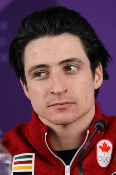 Scott Moir during the press conference at the 2018 Winter Olympics in PyeongChang | Source: Wikimedia