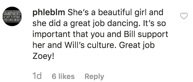 "Fan gushes over ""Little People's"" Zoey Klein's Bollywood performance 