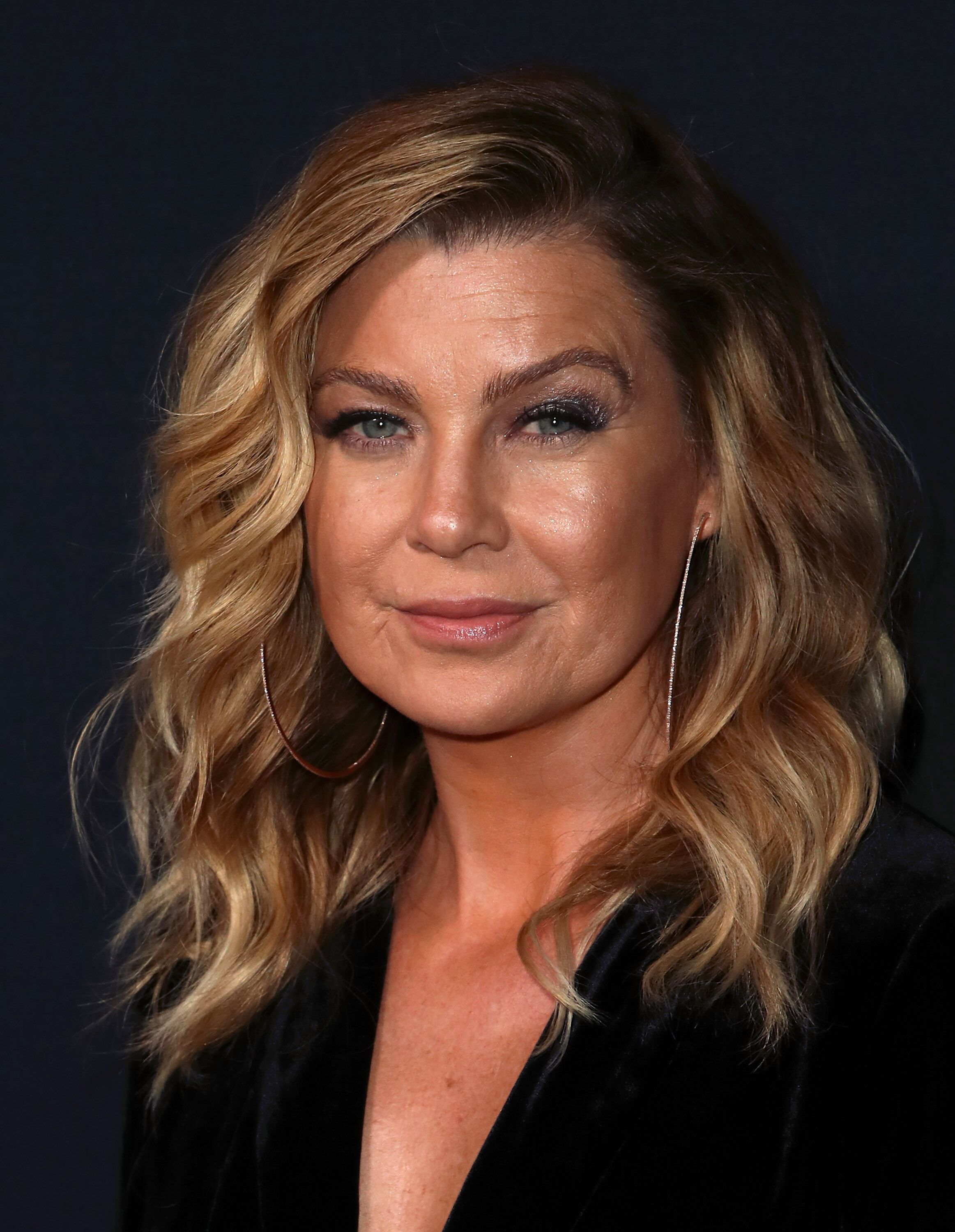 "Ellen Pompeo attends the 300th episode celebration for ABC's ""Grey's Anatomy"" at TAO Hollywood on November 4, 2017. 