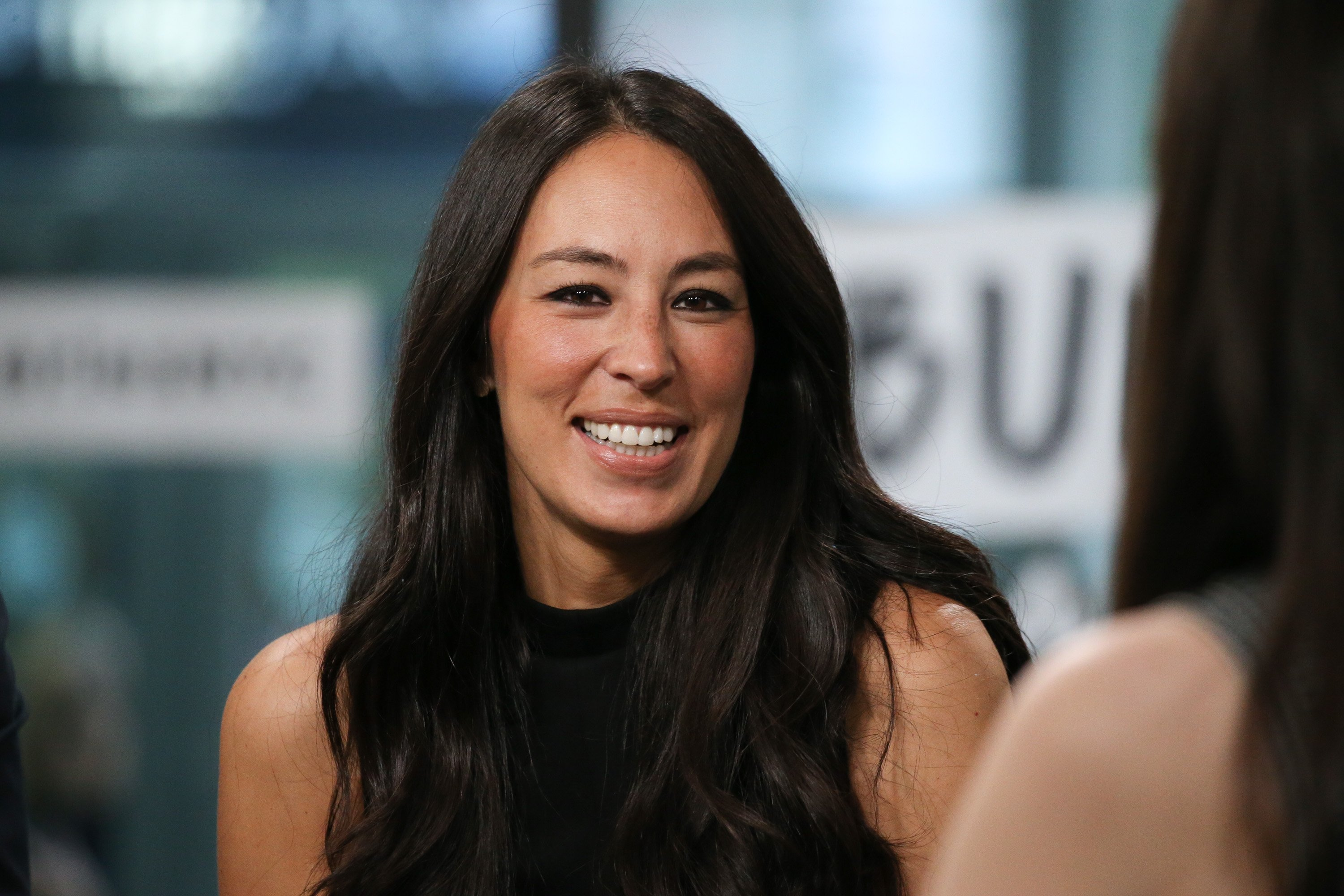 "Joanna Gaines discusses new book, ""Capital Gaines: Smart Things I Learned Doing Stupid Stuff"" at Build Studio on October 18, 2017 in New York City  