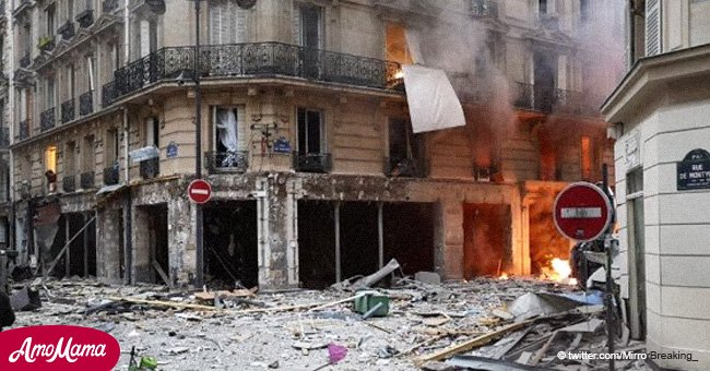 Massive explosion in French bakery kills three people and injures dozes of others