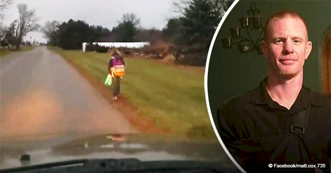 Ohio dad makes his daughter walk miles to school for bullying in viral video