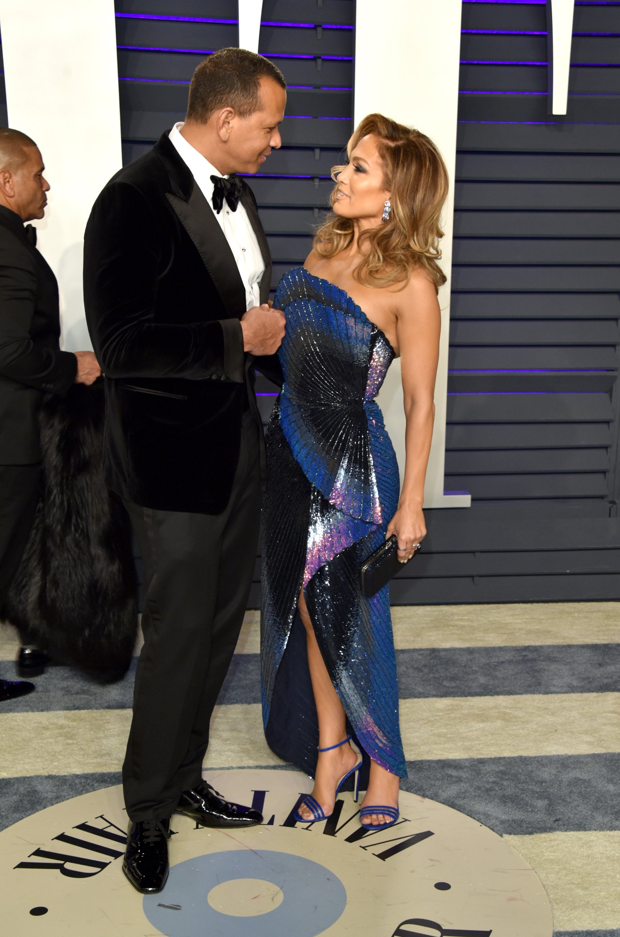Jennifer Lopez and Alex Rodriguez attend the 2019 Vanity Fair Oscar Party | Photo: Getty Images