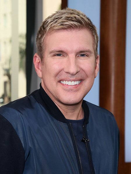 "Reality star and business tycoon Todd Chrisley during his 2017 visit to ""Hollywood Today LIve"" in Hollywood, California. 
