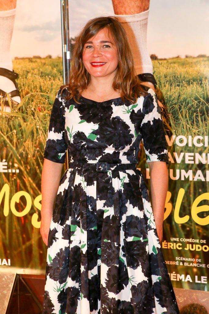 Blanche Gardin en mai 2017 à Paris. Photo : Getty Images