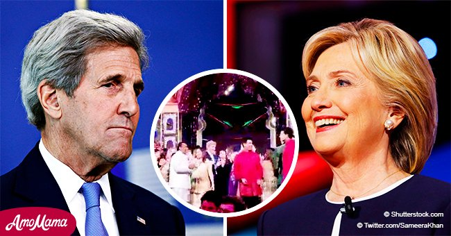 Hillary Clinton and John Kerry show off fiery dance moves that put the rest of us to shame